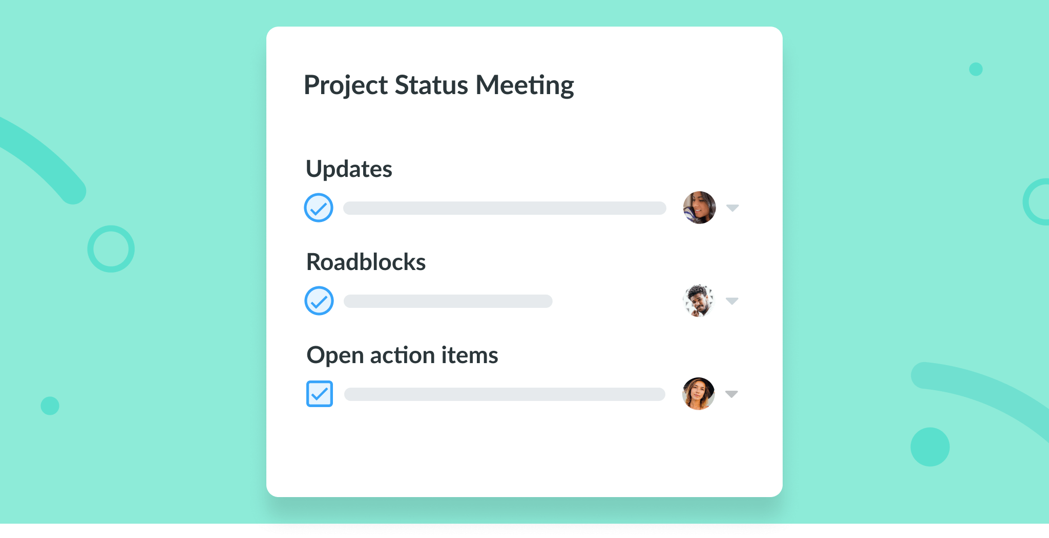 Project Status Meeting
