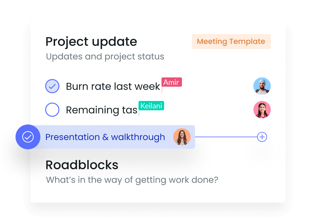 Project Update Meeting Agenda